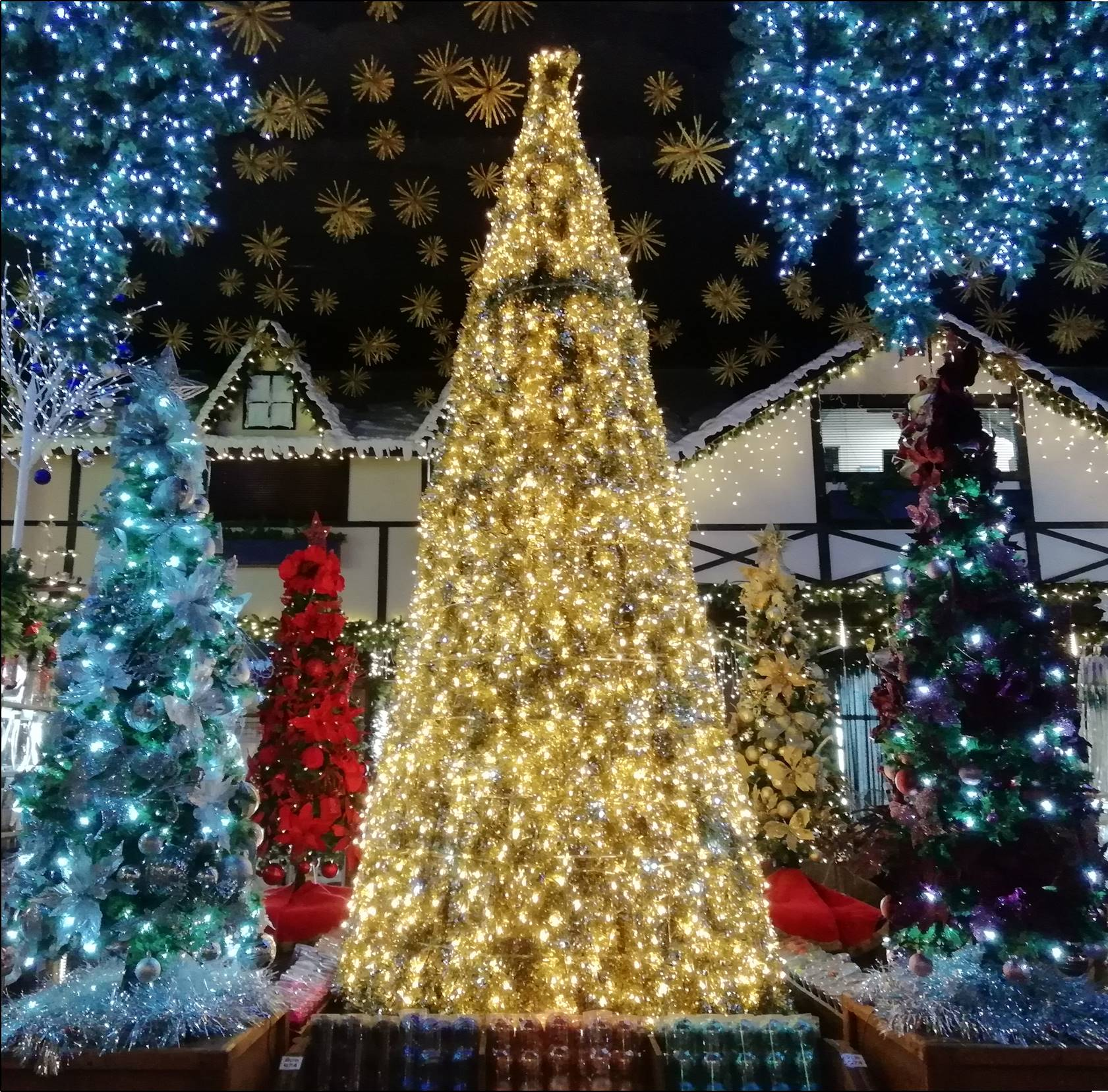 Image of: Santa S Warehouse Decorative Lights And Christmas Decor