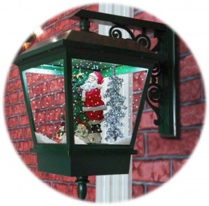 Snowing Lamp