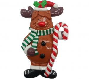Clay Reindeer