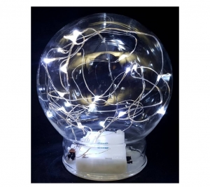 Glass ball PW  10cm