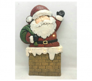 Santa with Chimney