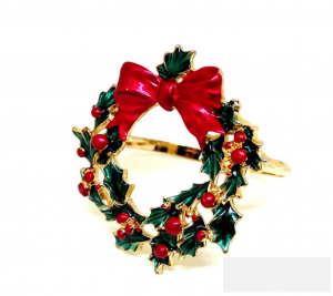 Wreath Napkin