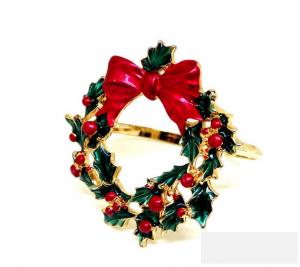 Wreath Napkin