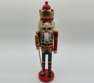 Nutcracker  38cm Red & Green