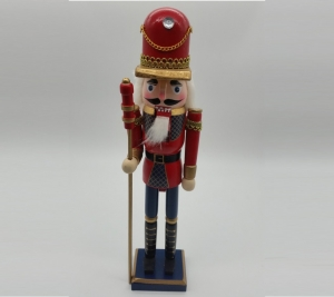 Nutcracker  38cm Red & Blue 1
