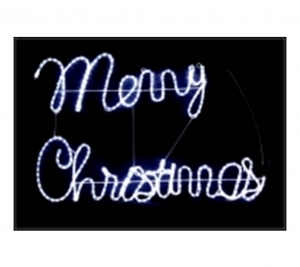 Merry Christmas PW 92x56cm
