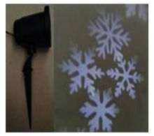 Projector Snowflakes