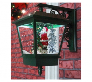 Wall-Lamps Green Santa