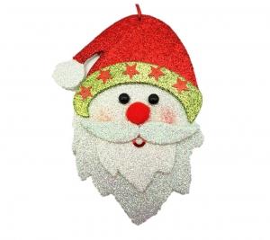 Santa face 18cm