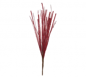 40cm Branch red
