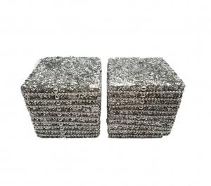 Beaded 9cm cube
