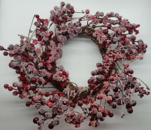 Wreath Frosted