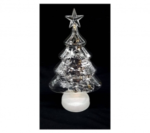 Glass Tree 27cm