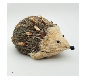 Bark Hedgehog 18 x 9 cm